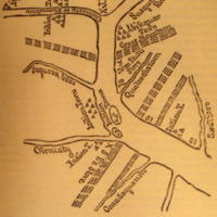 Drought of the Susquehannah River: Taylor's Map of Shamokin and Vicinity, about 1727