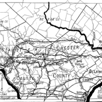 Earliest Highways Leading from the Delware and Schuylkill Rivers to the Susquehanna River and its Branches