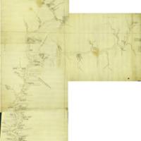 Joseph Shippen map of Susquehanna River (1756)