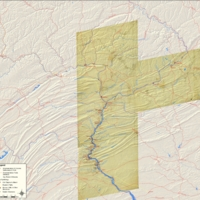 American Indian Trails and Settlements Overlayed