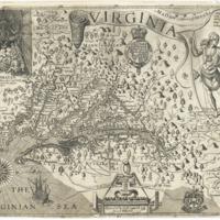 1612 John Smith Map