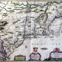 Belgii Novi, Angliae Novae et Partis Virginiae (New Netherland, New England and parts of Virginia)