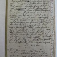 Mack Diary, p. 1
