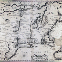 A Map of New England and New York