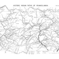 Historic Indian Paths of Pennsylvania