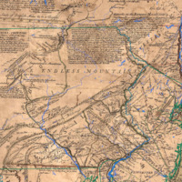 A Map of Pensilvania, New Jersey, New York, and the Three Delaware Counties